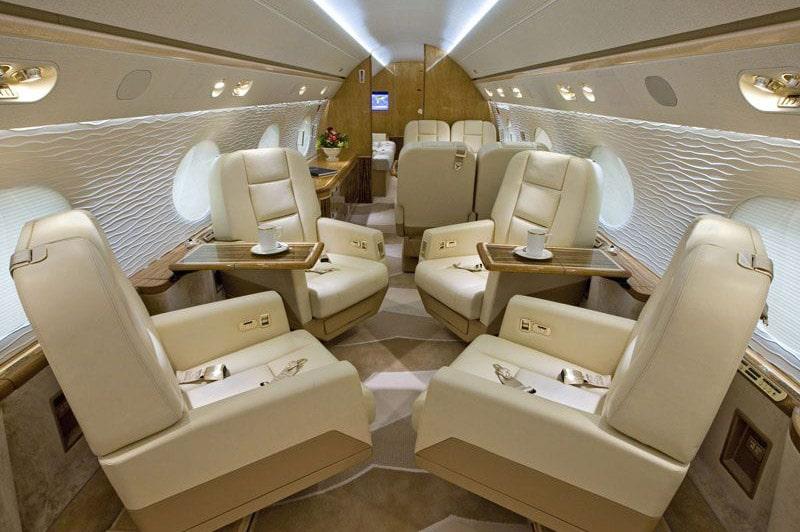 Gulfstream G550, un jet privé de prestige