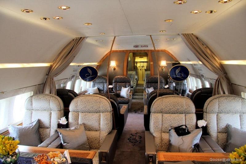 Boeing BBJ, un avion privé spacieux