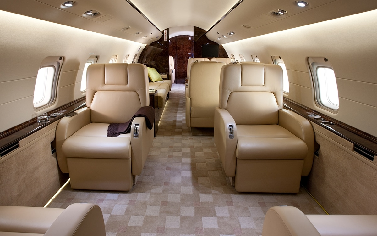 Bombardier challenger 850, un grand jet privé