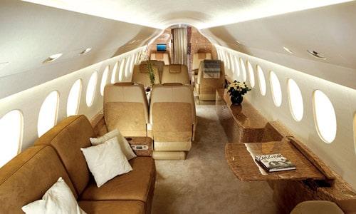 Dassault Falcon 7X, le jet privé haut de gamme