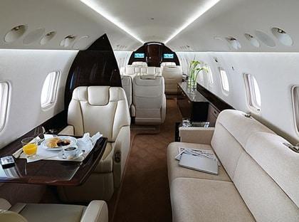 Legacy 650, un jet privé particulier