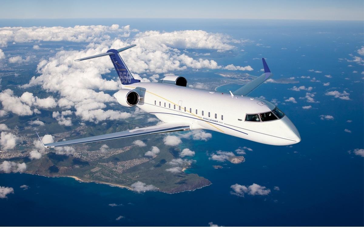 jet privé Bombardier Challenger 850 SE